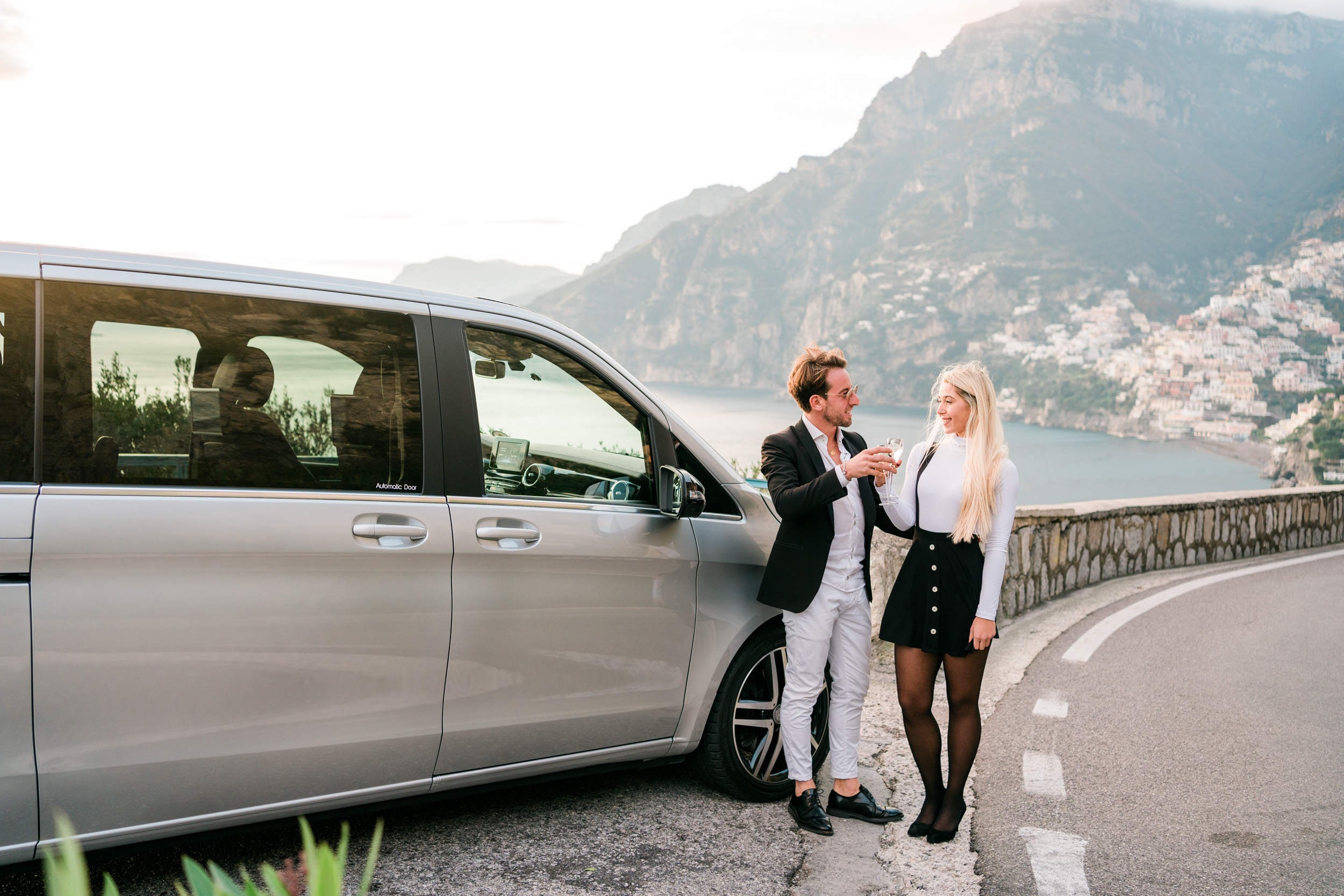dolcevita limousine transfers amalfi